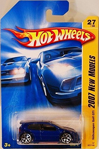 Hot Wheels VolkswagenVW Golf GTI Blue (2007 First Editions) (Vw Jetta Toy)