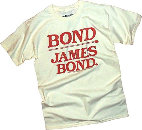 """Bond - James Bond."" Distressed Print -- James Bond T-Shirt"