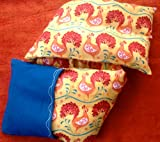 Fun Microwave Neck Pillow for Adults, Seniors, and Teens: HENS ON...