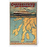 Campbeltown Inveraray & c. - SECR poster 1914 - Microfibre Tea Towel - 10171750 - Makes an Ideal Gift by personalised4u