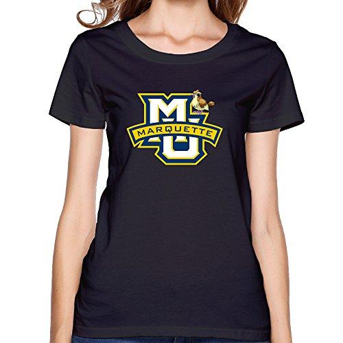 ZOENA Women's T-shirts - Marquette Golden Eagles Pidgey Black L