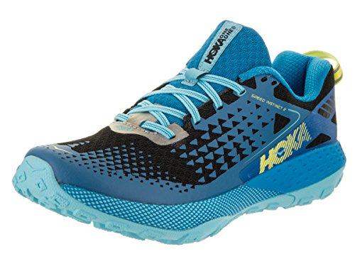 Hoka One One Womens Speed Instinct 2 Blue Aster / Black Training Shoe 6 Women Us