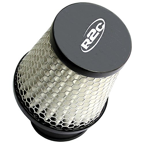 R2C Performance Products CY10803 Racing Air Filter Clamp-On 1.25 Outlet 5 inch length 20° Outlet Kart Racing Filter