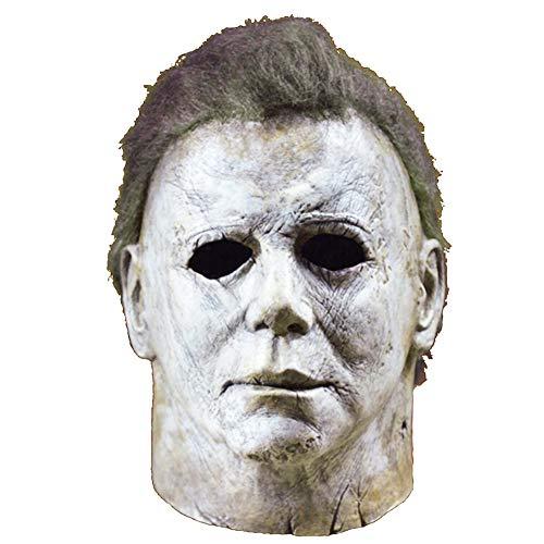 Michael Myers Mask Halloween 2018 Horror Movie Cosplay Adult Latex Full Face Helmet