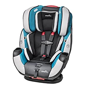 Evenflo Symphony DLX All-In-One Convertible Car Seat, Modesto