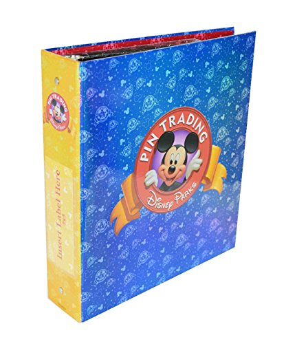 ve Pin Trading 3-Ring Binder Album Book with Set of Pins Pages and Dividers ()