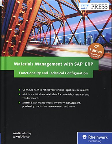 Materials Management with SAP ERP: Functionality and Technical Configuration (SAP MM) (4th Edition) (SAP PRESS)