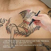 Aguja Profesional para Tatuajes, 5 Piezas Agujas EstéRiles ...