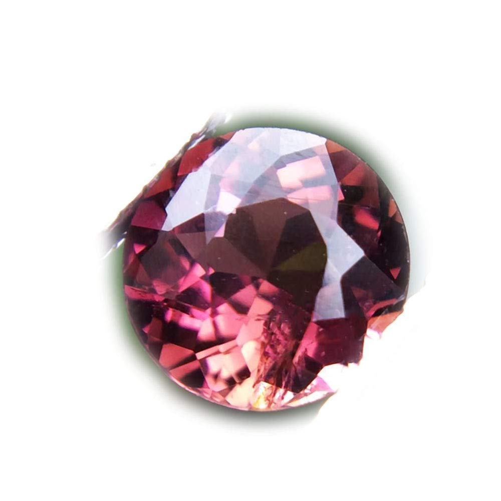 Lovemom 1.14ct Natural Round Unheated Pink Tourmaline Nigeria #R