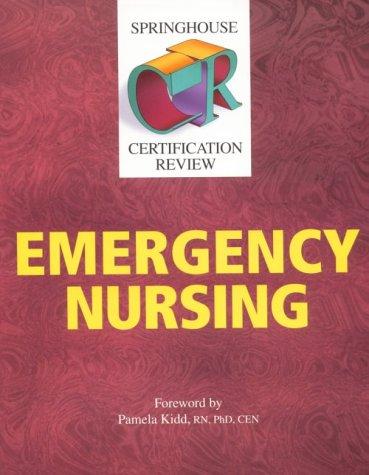 Emergency Nursing Pdf
