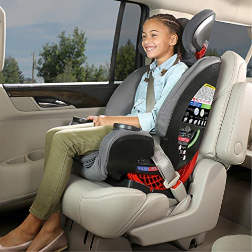 51HKCDsHsFL - Britax One4Life ClickTight All-In-One Car Seat – 10 Years Of Use – Infant, Convertible, Booster – 5 To 120 Pounds, Spark Premium Soft Knit Fabric [Amazon Exclusive]