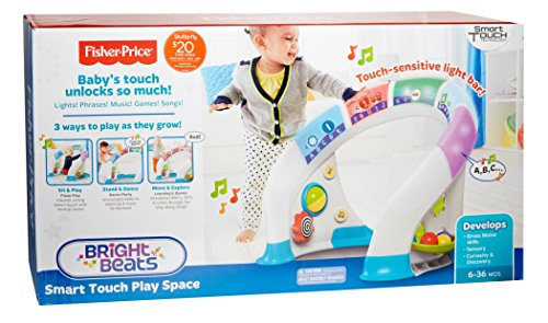 Fisher-Price Bright Beats Smart Touch Play Space: Amazon.es: Juguetes y juegos