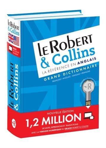 LE Robert & Collins -Grand dictionnaire Français-anglais - Anglais-français (bimédia) (French Edition) (French and English Edition)