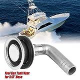 "Aramox Boat Fuel Vent for 5/8"" Hose, Universal"