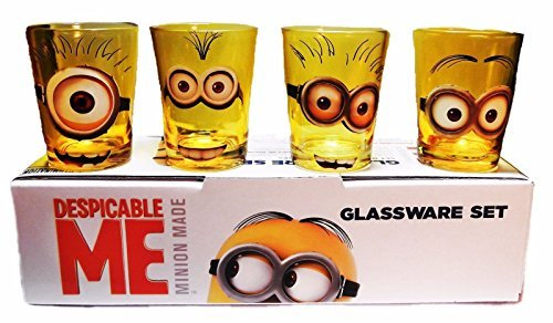Despicable Me Movie MINION Characters 4 Piece 1.5 oz BOXED S