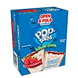 Pop-Tarts, Breakfast Toaster Pastries, Frosted Strawberry Flavored, Bulk Size, 120 Count (Pack of 12, 17.6 oz Boxes)