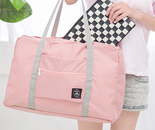 Travel Luggage Duffle Bag Lightweight Portable Handbag Salad Large Capacity Waterproof Foldable Storage Tote