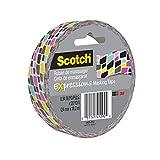 Scotch Expressions Masking Tape, 0.94 '' x 20 yd, Brick Graffiti, 6 Rolls (3437-P13)