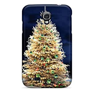 New Arrival Frosted Christmas Tree For Galaxy S4 Case Cover