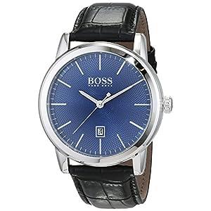 Hugo Boss Homme Analogique Classique Quartz Montres Bracelet avec Bracelet en Cuir – 1513400