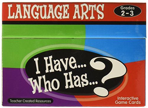 (Teacher Created Resources I Have. Who Has.? Language Arts Game Grades 2-3 (7813))