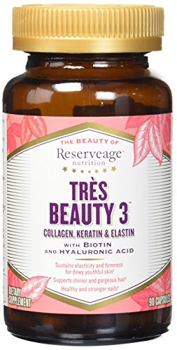 Reserveage Collagen Keratin vegetarian capsules product image