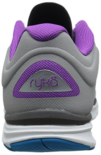 Ryka Chaussures De Cross-training Dynamiques Pour Femmes 2 Forge Gris / Acier Métallisé Gris / Violet Clair