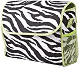 Best Ever Moda Baby Evers - Ever Moda Green Zebra Diaper Bag With Change Review