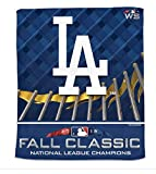 WinCraft Los Angeles Dodgers 2018 World Series Rally 15x18 Full Color Towel