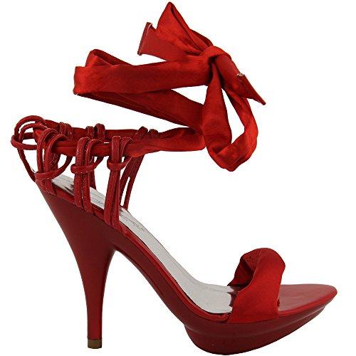 Rasalle Paris - Tira de tobillo Mujer Rojo - rojo