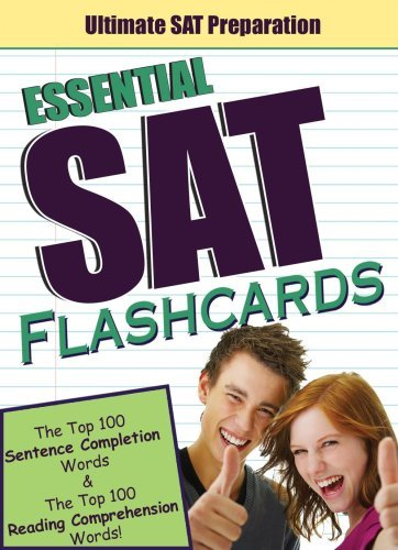 Read Online By Victoria Wood The PowerScore Essential SAT Flashcards: The Top 100 Sentence Completion Words & the Top 100 Reading (Crds) [Cards] PDF