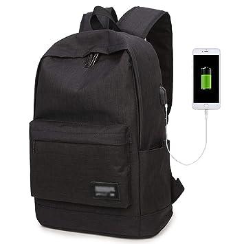 Sacs étudiant pour hommes et femmes, sac à dos pour lycée, sac à dos avec port de chargement USB, sac à main de grande capacité, sac de campus, sac