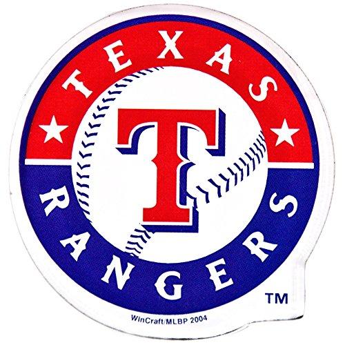 MLB Texas Rangers Premium Acrylic Carded Magnet (Rangers Magnet Texas Team)