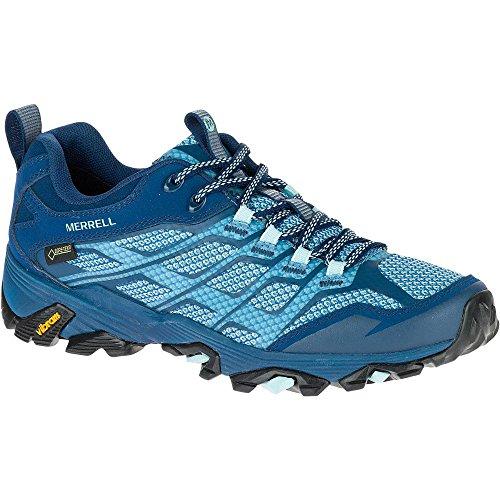 Merrell Moab Fst Gtx, Zapatillas de Senderismo para Mujer Azul (Poseidon)