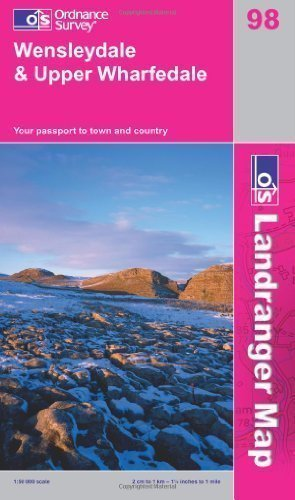 Wensleydale and Upper Wharfedale (OS Landranger Map) by Ordnance Survey B2 Edition (2009)