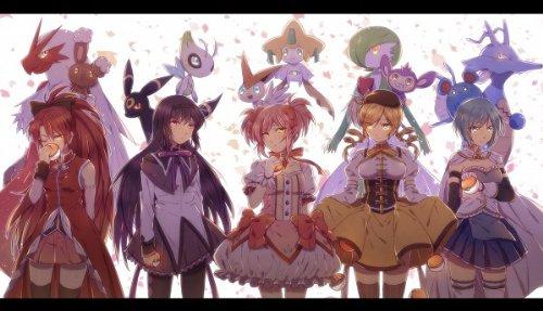 Amazon Com Puella Magi Madoka Magica Anime Complete Anime Series Maho Shojo Madoka Magica Movies Tv