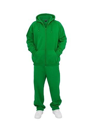 Urban Classics Blank Suit - Chándal para Hombre Neon Verde Verde ...