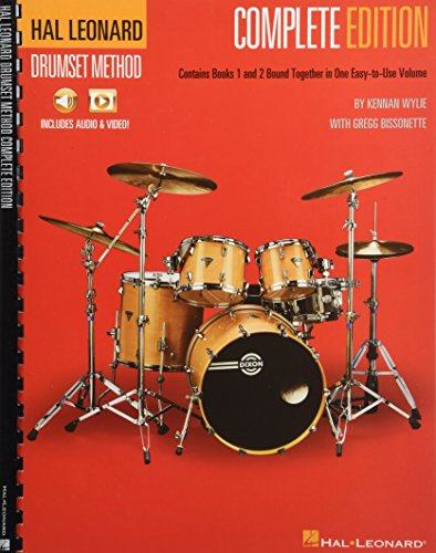 (Hal Leonard Drumset Method - Complete Edition: Books 1 & 2 with Video and Audio)