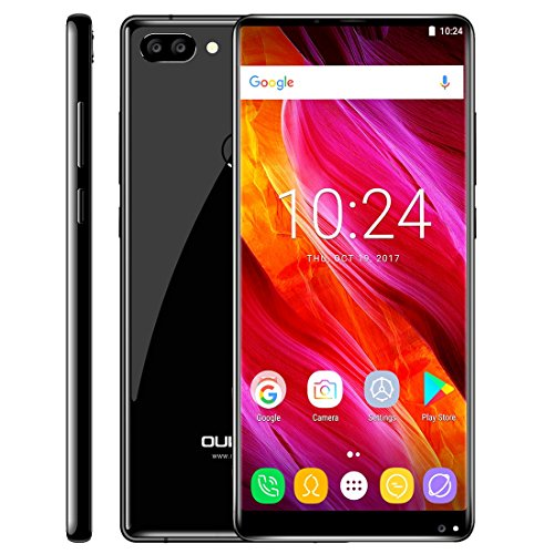 OUKITEL MIX 2 6GB+64GB 5.99 inch Android 7.0 MTK6757 / Helio P25 Octa Core up to 2.39GHz WCDMA & GSM & FDD-LTE (Black)