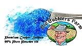 Premium Copper Sulfate 99 Pure Powder 5lb. By Old Cobblers Farm