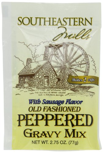 (Southeastern Mills Old Fashioned Peppered Gravy Mix, With Sausage Flavor 2.75-Ounce (Pack of 24))