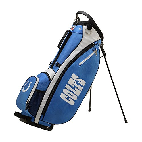 Indianapolis Colts Golf Cart Bag (Wilson 2018 NFL Carry Golf Bag, Indianapolis Colts)