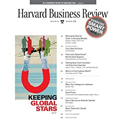 Harvard Business Review, November 2008