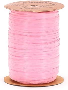 Ivory 100-Yard Spool Berwick Wraphia Matte Rayon Craft Ribbon