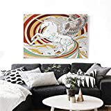 Best Pop Culture Graphics African Musics - homehot Unicorn Canvas Wall Art for Bedroom Home Review