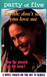 Don't Say You Love Me, Rosalind Noonan, 0671024523