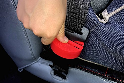eZtotZ BuckleShield Seat Belt Buckle Lock - Made in USA - Cover Stops Children from Unbuckling - Premium SeatBelt Lock Heavy Duty ABS Plastic- Universal Fit Seat Belt - Lock Belt Buckle Seat