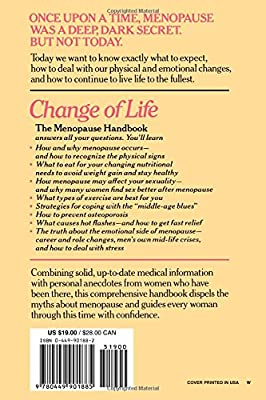 Signs and symptoms of the menopause