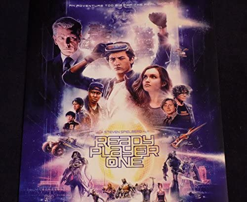 Details about  /20A260 Ready Player One Hot Movie Art Poster Silk Deco 12x18 24x36