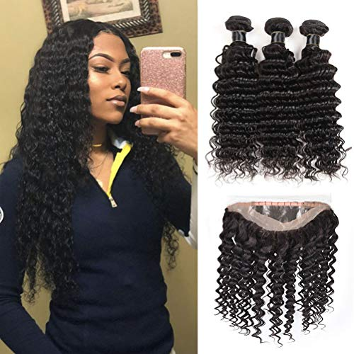 The 10 best 360 frontal with bundles deep wave 2019
